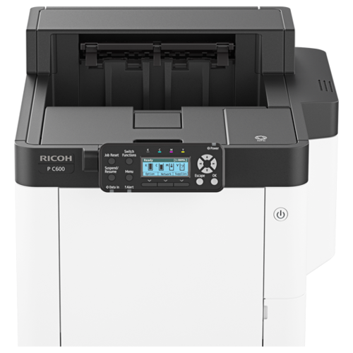 Фото - Принтер Ricoh P C600, белый/черный принтер ricoh sp 330dn белый черный