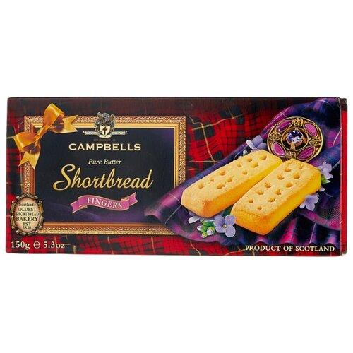 Печенье Campbells Shartbread Fingers песочное, 150 г печенье песочное треугольнички walkers 170 г
