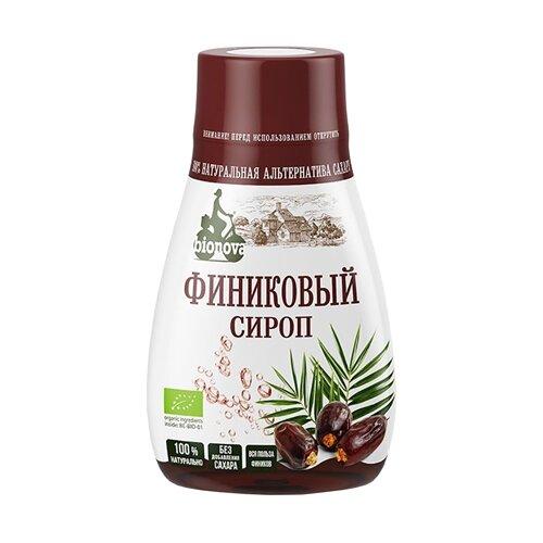 Сироп BIONOVA Финиковый без сахара 230 г