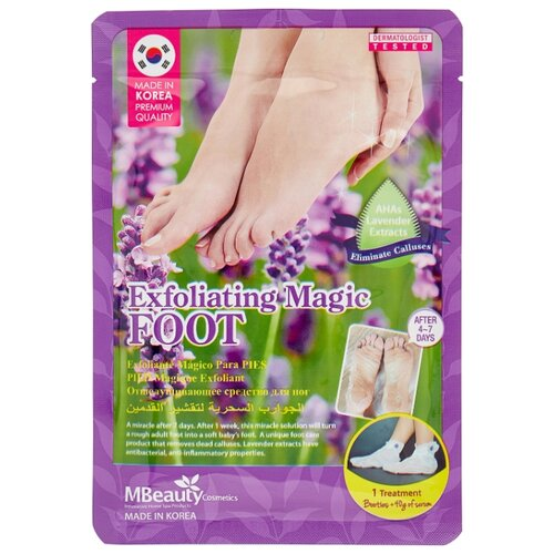 Mbeauty Маска-носочки для ног Magic Foot 40 г пакет по цене 352