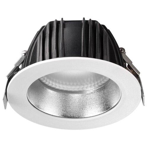Встраиваемый светильник Novotech 358336 встраиваемый светильник novotech snail 357568