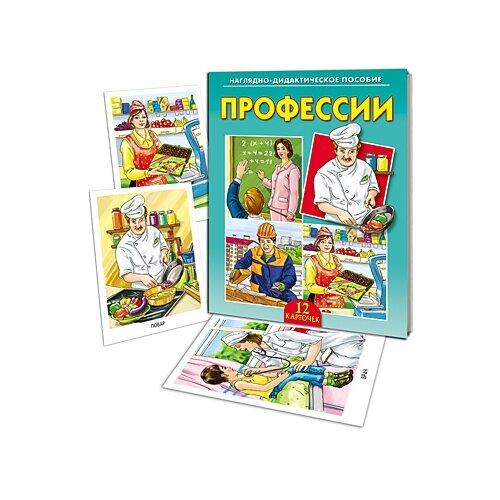 Наглядно-дидактическое пособие Профессии , Рыжий кот, Учебные пособия  - купить со скидкой