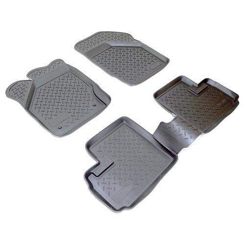 Комплект ковриков NorPlast NPL-Po-85-29 4 шт. черный