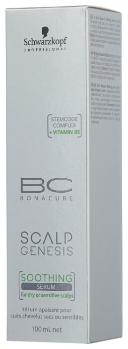 BC Bonacure Scalp Genesis Успокаивающая сыворотка