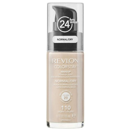 Revlon Тональный крем Colorstay Makeup Normal-Dry, 30 мл, оттенок: Ivory 110 of revlon revlon colorstay moisture stain