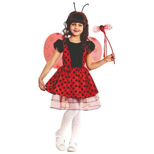 Купить Костюм Батик Божья Коровка (8002), красный/черный, размер 104, Карнавальные костюмы