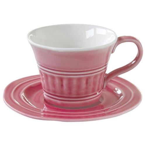 Easy Life Чайная пара Abitare 250 мл темно-розовый