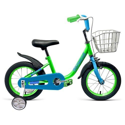 Детский велосипед FORWARD Barrio 14 (2019) зеленый (требует финальной сборки) цена 2017