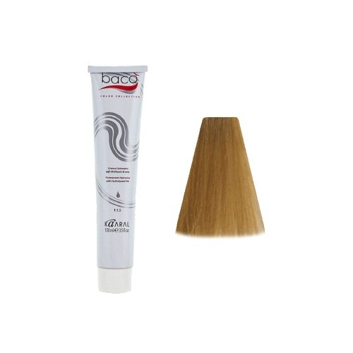 Купить Kaaral Baco Color крем-краска для волос, 9.30 очень светлый золотистый блондин, 100 мл