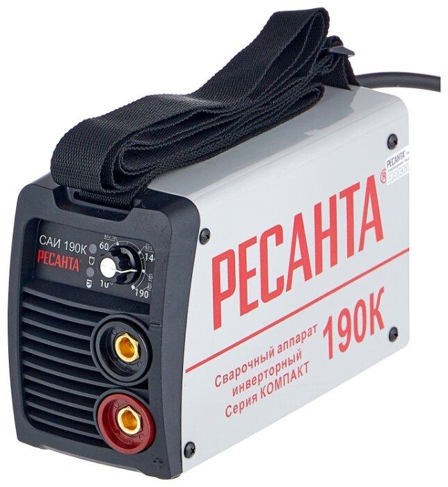 Стоит ли покупать Сварочный аппарат РЕСАНТА САИ-190К (MMA) - 178 отзывов на Яндекс.Маркете (бывший Беру)