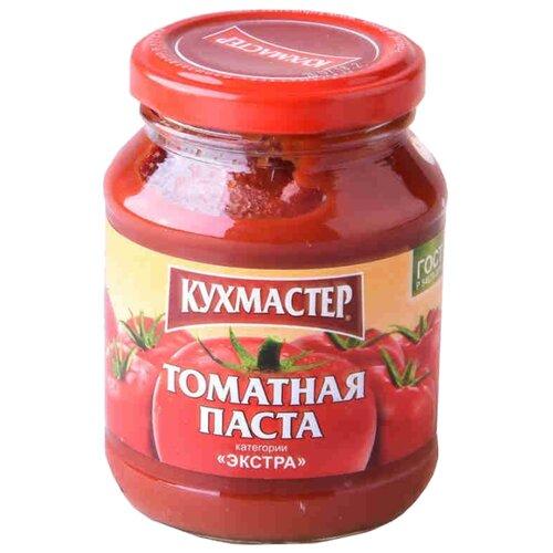 Кухмастер Томатная паста Экстра 270 г кубань продукт паста томатная 70 г
