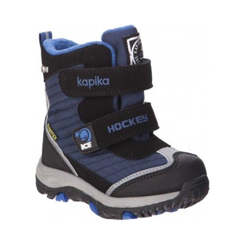 Ботинки Kapika размер 23, черный/синий ботинки tapiboo размер 30 черный