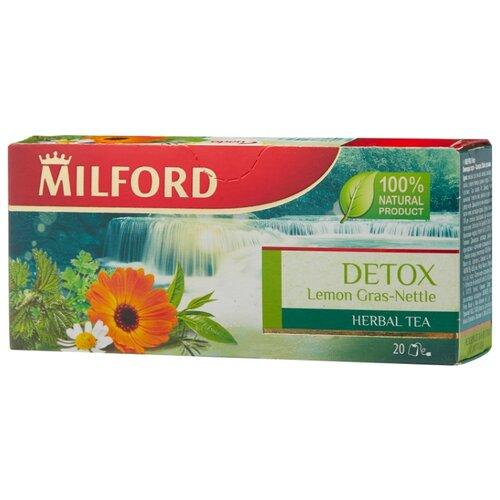 Чайный напиток травяной Milford Detox в пакетиках, 20 шт.