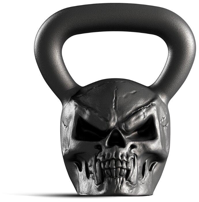 Гиря цельнолитая Iron Head Череп 16 кг