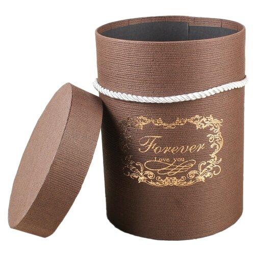 Фото - Коробка подарочная Yiwu Zhousima Crafts круглая 14 х 18 х 14 см коричневый 14 делений 1050мм х 423мм