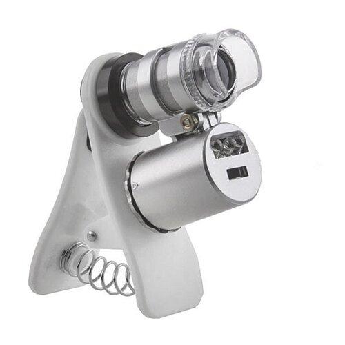 Фото - Микроскоп Кроматек 9882-W серебристый микроскоп кроматек mg10081 8 серебристый