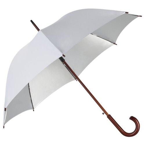 Фото - Зонт-трость полуавтомат Unit Standard (393) белый зонт трость полуавтомат три слона 1100 бордовый