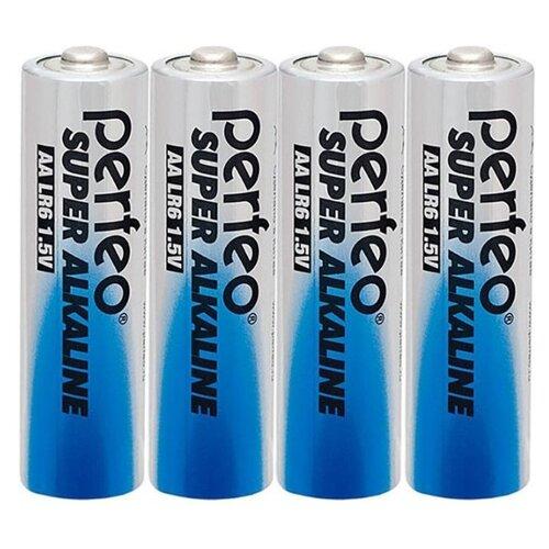 Фото - Батарейка AA щелочная Perfeo LR6/4SH Super Alkaline 4 шт батарейка d щелочная perfeo lr20 2bl super alkaline 2 шт