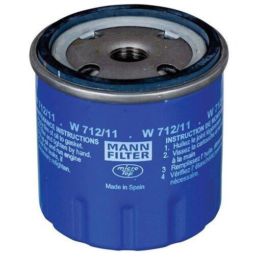 Масляный фильтр MANNFILTER W 712/11 масляный фильтр mannfilter w 712 4