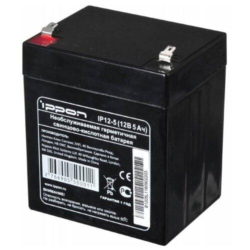 Аккумуляторная батарея IPPON IP 12-5 (12В 5 Ач) 5 А·ч