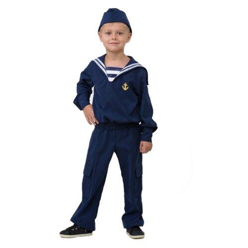 Купить Костюм Батик Матрос (5702), синий, размер 146, Карнавальные костюмы