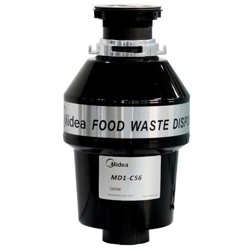 Бытовой измельчитель Midea MD1-C56 черныйИзмельчители пищевых отходов<br>