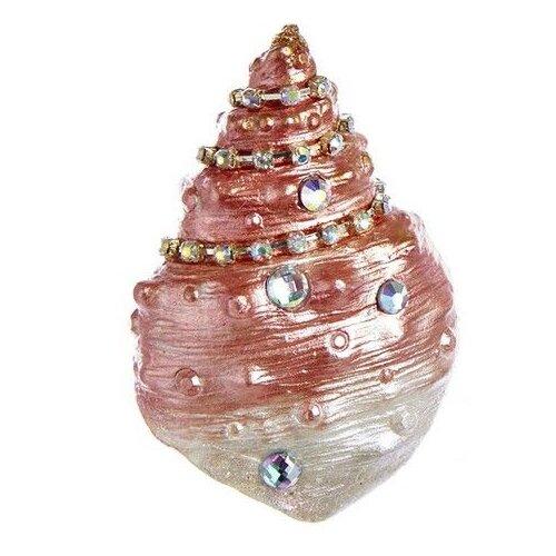 Елочная игрушка Goodwill Диона розовый.