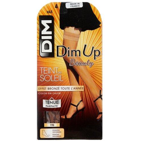 Чулки DIM Dim Up Teint de Soleil, 17 den, размер 4, hale (бежевый)