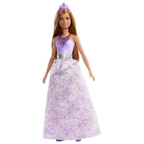 Фото - Кукла Barbie Dreamtopia Принцесса с русыми волосами, 28 см, FXT15 кукла barbie dreamtopia