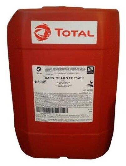 Трансмиссионное масло TOTAL Transmission Gear 9 FE 75W80