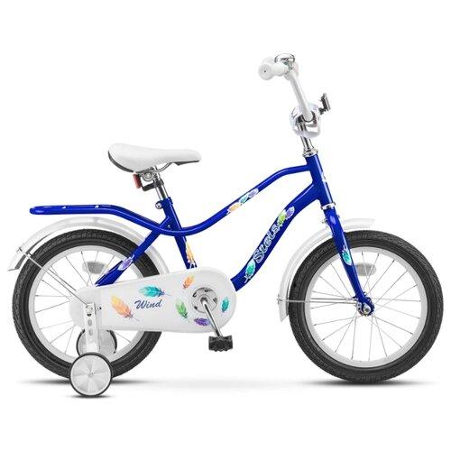 Фото - Детский велосипед STELS Wind 16 Z010 (2018) синий 11 (требует финальной сборки) городской велосипед stels navigator 300 lady 28 z010 2018 фиолетовый 20 требует финальной сборки