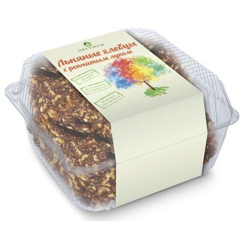 Хлебцы льняные Оргтиум с луком репчатым 85 г