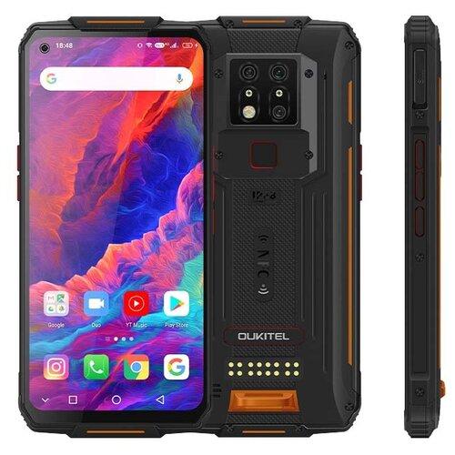 Смартфон OUKITEL WP7, черный / оранжевый