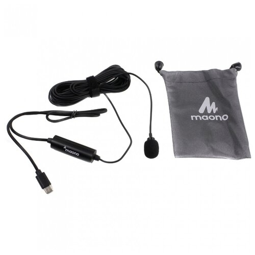 Микрофон Maono AU-100TC черный