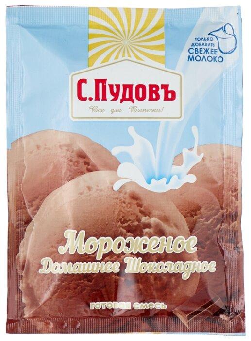 Смесь для мороженого С.Пудовъ Мороженое Домашнее Шоколадное 70 г