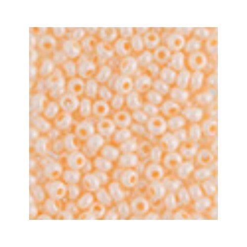 Купить Бисер Preciosa , 10/0, 500 грамм, цвет: 16292 светло-оранжевый, Фурнитура для украшений