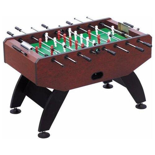 Игровой стол для футбола Weekend Parma коричневый игровой стол для футбола weekend stuttgart венге