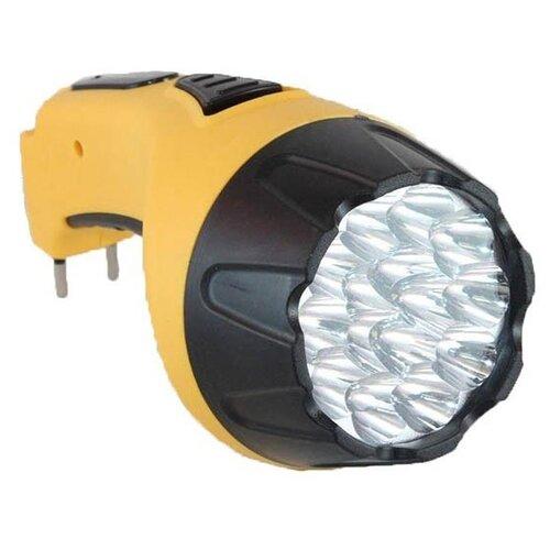 Фото - Ручной фонарь СЛЕДОПЫТ Электра 15 жёлтый ручной фонарь следопыт профи pf pfl l63 черный