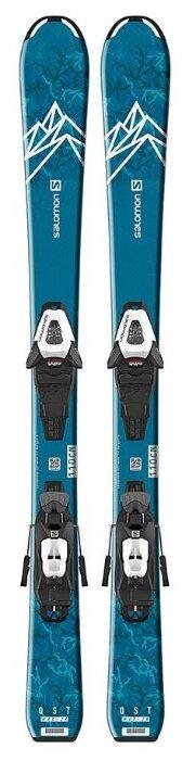 Горные лыжи Salomon E Qst Max Jr S с креплениями C5 gw 19-20