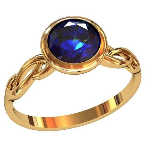 Фото - Приволжский Ювелир Кольцо с 1 алпанитом из серебра с позолотой 272079-FA59, размер 18 приволжский ювелир кольцо с 1 алпанитом из серебра с позолотой 272158 fa77 размер 18