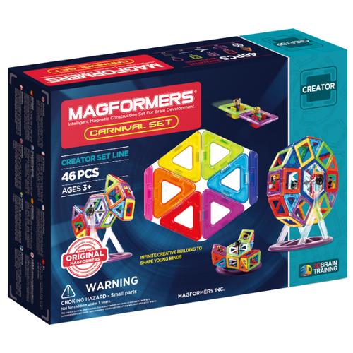 цена Магнитный конструктор Magformers Creator 703001 (63074) Carnival Set онлайн в 2017 году