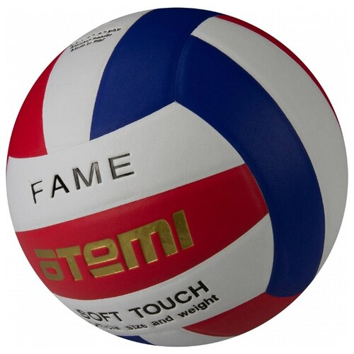 Волейбольный мяч ATEMI Fame красный/белый/синий
