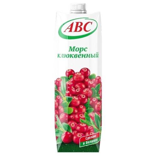 Фото - Морс ABC клюквенный, 1 л морс клюквенный чудо ягода 970 мл