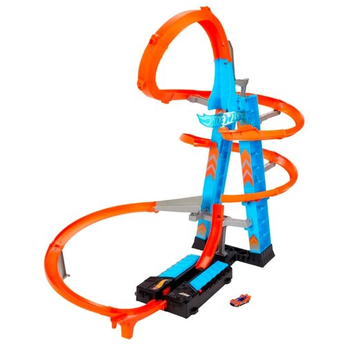 Купить Трек Hot Wheels Падение с башни GJM76, Детские треки и авторалли