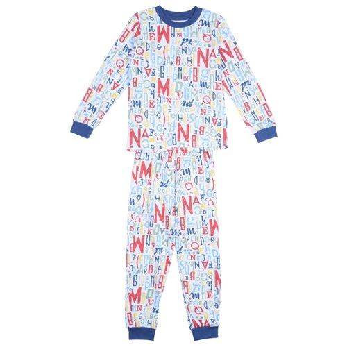 Купить Пижама RuZ Kids размер 122-128, белый, Домашняя одежда