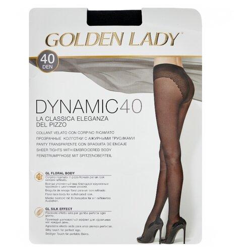 Колготки Golden Lady Dynamic 40 den, размер 2-S, nero (черный) колготки golden lady dynamic 40 den размер 4 l nero черный
