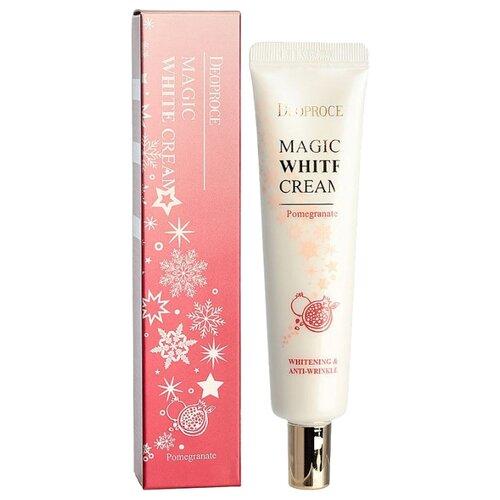 Купить Deoproce Magic White Cream Pomegranate Увлажняющий осветляющий крем для лица с экстрактом граната, 40 мл
