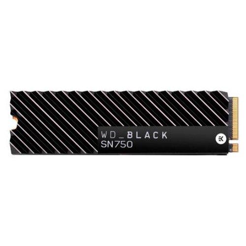 Купить Твердотельный накопитель Western Digital WD Black SN750 2 TB (WDS200T3XHC) черный
