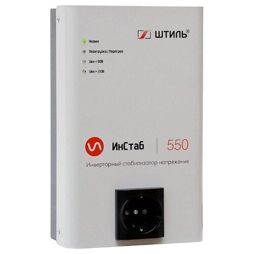 Стабилизатор напряжения однофазный Штиль IS550 (0.4 кВт) серый