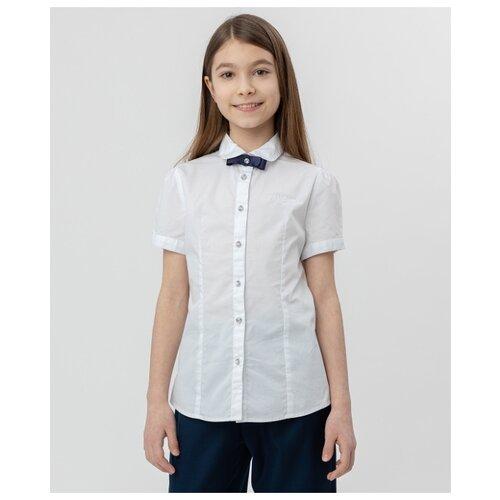 Купить Рубашка Button Blue размер 122, белый, Рубашки и блузы